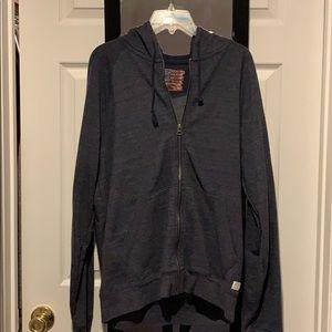 Lucky zipper sweatshirt